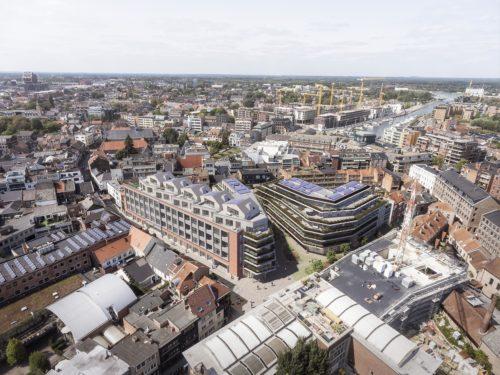 RTT-gebouw Hasselt wordt nieuw stadsdeel